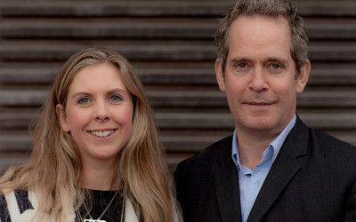 Tom Hollander and Hannah Pescod launch BANDSTAND PRODUCTIONS