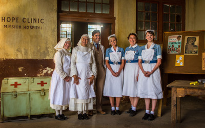 CALL THE MIDWIFE CHRISTMAS SPECIAL & SERIES 6 COMMENCES FILMING
