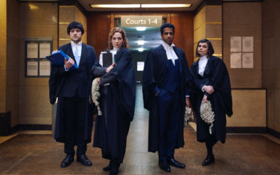 Katherine Parkinson and Will Sharpe are 'Defending the Guilty' in new BBC Two comedy