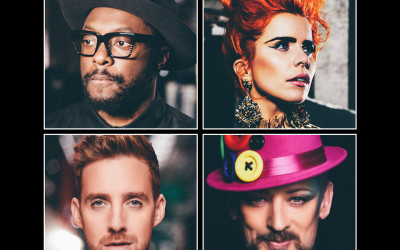 Boy George, Paloma Faith, will.i.am and Ricky Wilson confirmed for The Voice UK